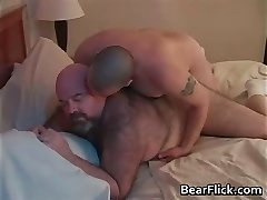 Hefty culo gay bears Dirk Grizzly and Chase part4