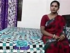Humungous bra-stuffers indian aunty in red saree fucked by neighbour guy..and  record her
