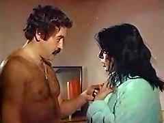 zerrin egeliler old Turkish sex erotic movie intercourse scene hairy