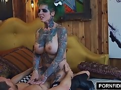 PORNFIDELITY - Sydnee Vicious Punk Rock Internal Cumshot