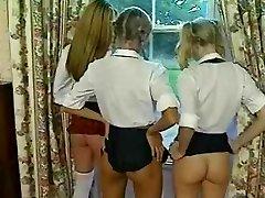 Schoolgirls Spanked And Fucked