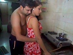 Husband gobbling wife