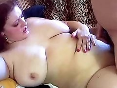 Chunky Red-haired With Large Hangers Kristina Fucked