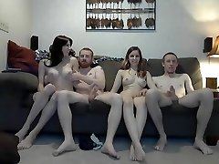 Fabulous Amateur Shemale movie with Big Pecker, Swingers sequences