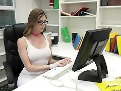 Gorgeous Office Fuckslut Gets Destroyed By Random Man Off the I