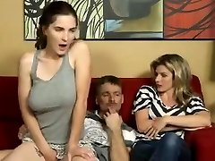 Dad Fucks not Masturbating Daughter-in-law-daddi