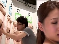 Fabulous Japanese slut in Ultra-kinky Finger-banging, Cunnilingus JAV movie