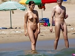 Jerk off compete to the beat - Nudist Couples
