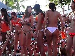 Insane Pool Party Slut Contest Fantasy Fest