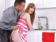 MyBabySittersClub - Babysitter Stuck In Drown Fucked By Boss
