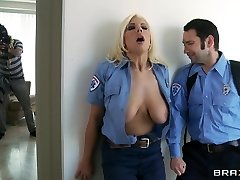 Meaty Tits In Uniform: Emergency Call