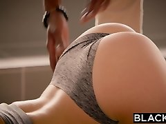 BLACKED Teen Leah Gotti Loves Enormous Black Cock