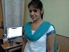 Tamil girl hot smartphone talk