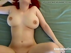 Redhead Fucking Her Boyfriend On Camera