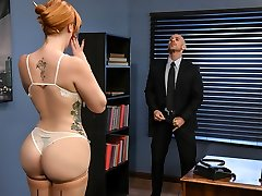 Lauren Phillips & Johnny Sins in The New Dame: Part 1 - Brazzers
