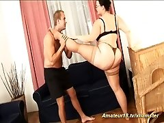 extreme flexible fat step-mother