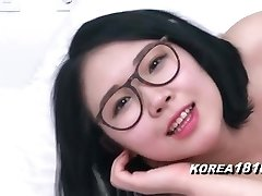 KOREA1818.COM - Marvelous Glasses Korean Babe!