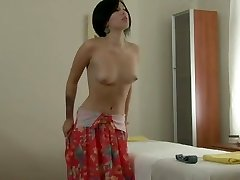Brief Haired Beauty - Strip & Massage Play