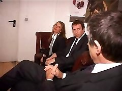 Two German secretaries make a supreme impression on the boss and his associate