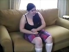Chubby Young Slut Punished With Aggressive Spanking