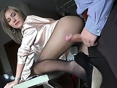 Hot pornstar fetish and creampie