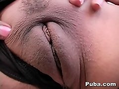 Big Funbag Indian Swallows Her Pride