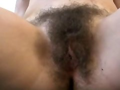 Cumshot On Wooly Pussy BVR