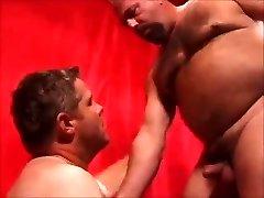 Two super hot daddies fucking