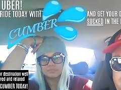 PUBLIC Truck BACKSEAT UBER BLOWJOB SERVICE - Ride with CUMBER today