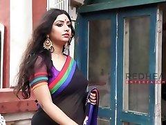 Rupsa - Saree Gal - Deep Cleavage