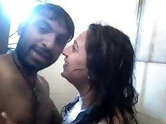 bhabhi kissing to boyfriend as well hindi talkings
