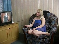 Unusual Russian Blonde fuckin