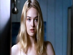Jess Weixler naked lounging on her back as a fellow squeezes and