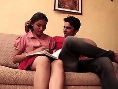 Indian school girl shagging with teacher .