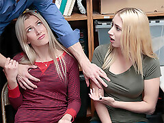 Angelina Bonet & Sierra Nicole in Case No. 7477895 - Shoplyfter