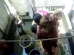 Bangla desi village girls bathing in Dhaka city HQ (Five)