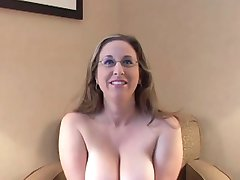 Big Titted Four Eyed Cunt Kitty Rides And Slurps