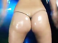 Micro bikini oily dance-2 Harukitomi (Uncensored)