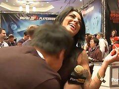 PornhubTV Alexa Aimes Interview at 2014 AVN Awards