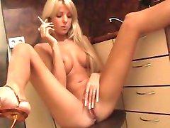 Lena Smoking Beauty Teen