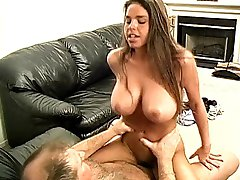 Big Tits Young Babe & Old Pervert