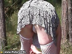 Horny mature nudists cums part4