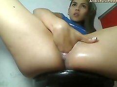 Cam Girl Masturbating