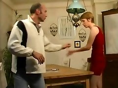 daughter-in-law Helps step-father Forget About His Porn Mag !