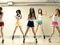 Waveya korejské taneční tým
