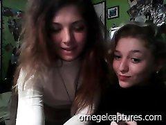 omeglecaptures teen girls 2 lesbian