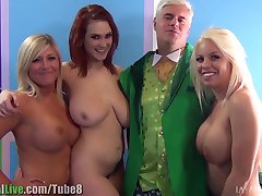 St.Patrick's pornstar orgy party! Vol.1