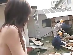 Japanese Outdoor Gangbang