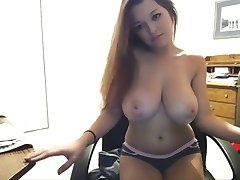 Teen with best boobs strips