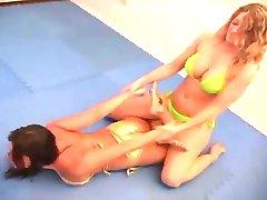 Sexy Lesbian Wrestling